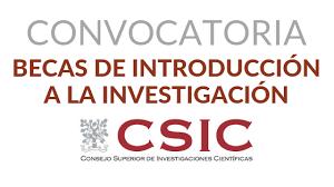 """Convocatoria de Becas CSIC """"JAE Intro"""", en el marco del Programa """"Junta  para la Ampliación de Estudios"""" – Escuela de Doctorado de la Universidad de  Cádiz"""